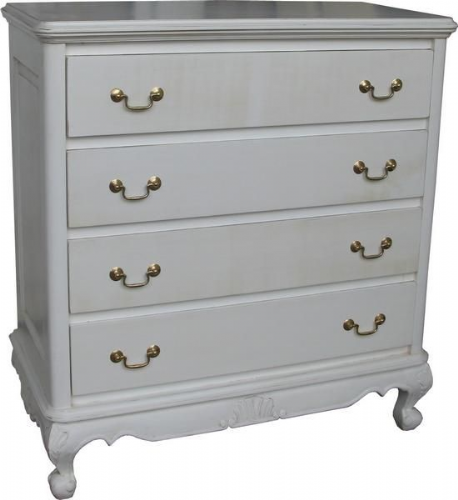 Louis Chest of Four Drawers